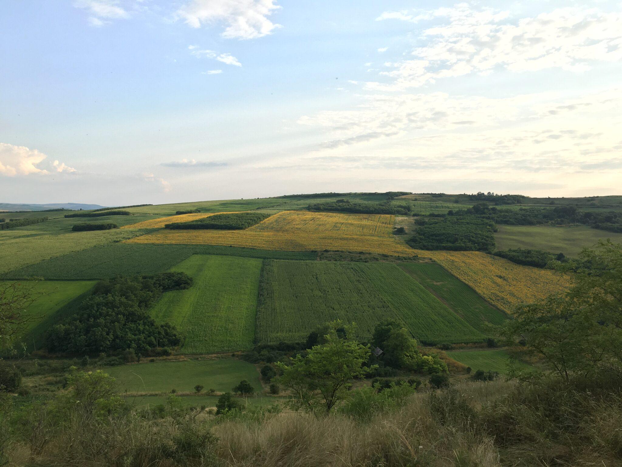 naturen i rumænien